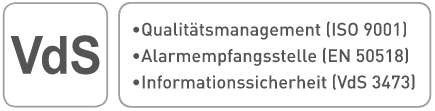 VdS Zertifiziert